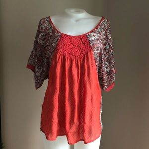 Tops - Paisley Sleeve Blouse